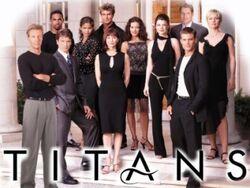 Titans (NBC) logo