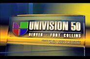 Univision 50 Denver Fort Collins Ident 2006