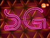 Sábados Gigantes logo en el estudio 1989