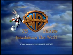 WARNER BROS. FAMILY ENTERTAINMENT 75 YEARS STANDARD LOGO
