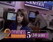WJBK TV2 Eyewitness Morning 1995 ID