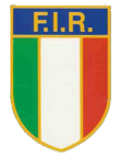 Italy rugby union 1970s logo