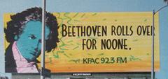 KFAC Billboard