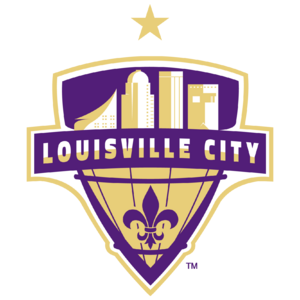 Louisville City FC logo (one gold star)
