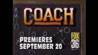 WATL FOX 36 promo for Coach September 20, 1993
