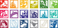 Walt-disney-family-museum-logo-set