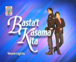 Basta't Kasama Kita titlecard