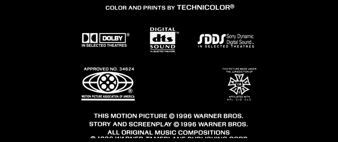Sdds Credits: Eraser (1996) MPAA IATSE DOLBY SDDS DTS.PNG