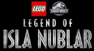 LEGO Jurassic World Legend of Isla Nublar logo