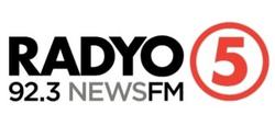 Radyo5 92.3 News FM (2019) Logo