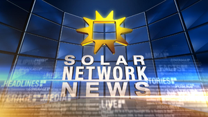 Solar Network News Title Card