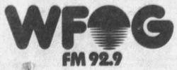 WFOG 92.9 1987