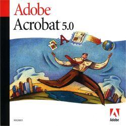 Adobe acrobat 5.0 front