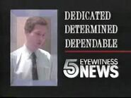 DEDICATED DETERMINED DEPENDABLE 1989