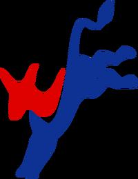 Democratic logo (kicking donkey)