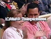 Lorimar-Telepictures 1986 logo (Love Connection - superimposed logo problems)-0