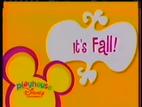 Playhouse disney id it's fall