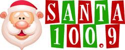 Santa 100.9 logo