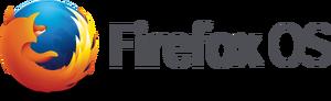 Firefox OS horizontal logo