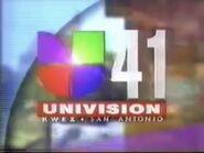 Kwex univision 41 evening opening 1996