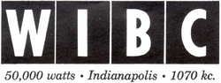 WIBC Indianapolis 1941
