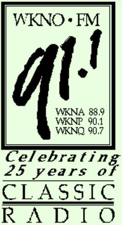 WKNO FM Memphis 1998