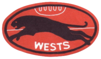 Wests Panthers football logo