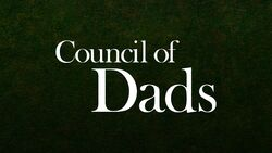 Council of Dads titlecard