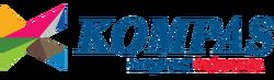 Logo Kompas Di Layar kaca