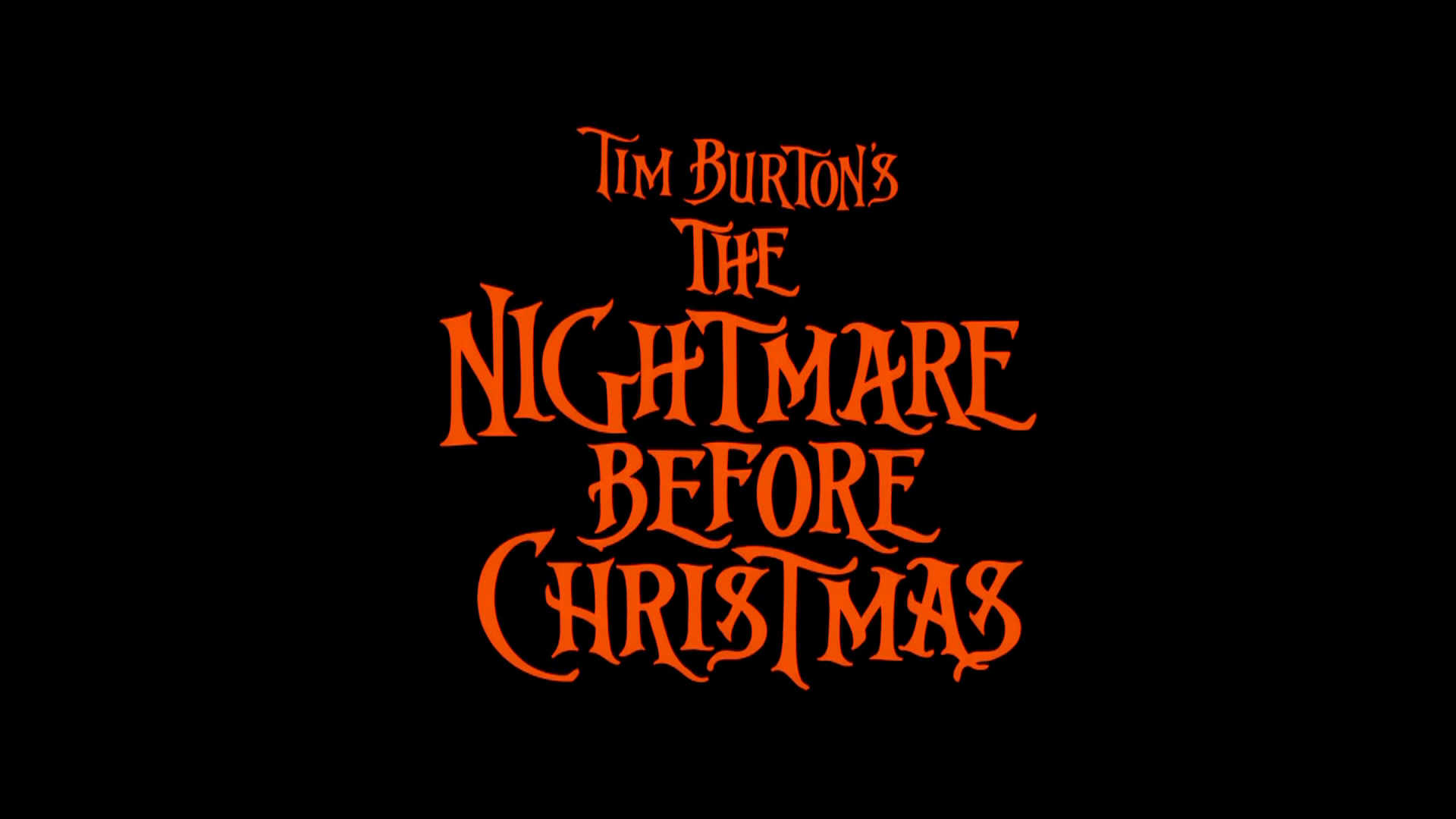 Image - Nightmare Before Christmas Movie Logo.jpg | Logopedia ...