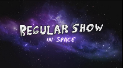 Regular Show In Space