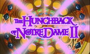The Hunchback of Notre Dame II Title Card