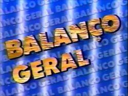 Balanço Geral 1985
