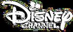 Disney Channel Philippines Wordmark White Logo 2014