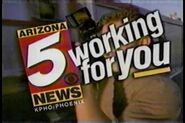 KPHO Arizona 5 ids bumpers 1996 1