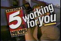 KPHO Arizona 5 ids bumpers 1996 1