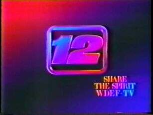 WDEF TV-12 CBS Chattanooga ''Share the Spirit'' Station ID (1986-87)