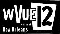 WVUE 12 logo 1962-63