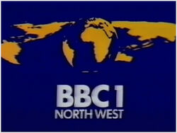 BBC 1 1974 North West