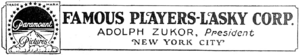Famous Players-Lasky Corporation 1922