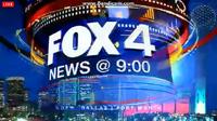 KDFW Fox 4 News 9PM open - 2013