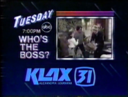 KLAX-TV Who's The Boss? Promo