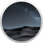 MacOS Mojave Dark Logo (Alternate)