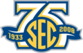 Southeastern Conference logo (75th anniversary)