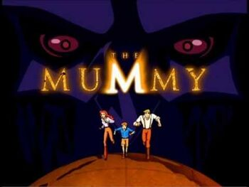 The Mummy title card