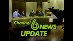 WBRC-TV's Channel 6 News Update video opening from 1982