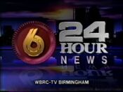 WBRC Channel 6 ID video from May 1992