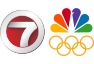 WHDH Olympic logo