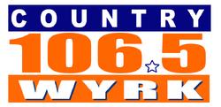 Country 106.5 WYRK Orange