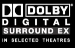 Dolby Digital Surround Ex In Slected Theaters 2003